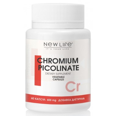 Хрому піколінат / Chromium picolinate - джерело хрому