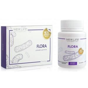 Flora (Флора) капсулы - нормальная микрофлора кишечника, пищеварение, иммунитет