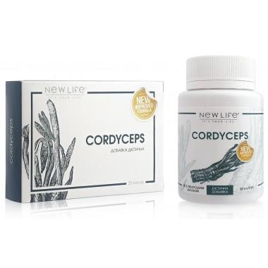 Cordyceps (Кордіцепс) капсули - антибактеріальне, противірусне, онкопротекторное, підвищує імунітет