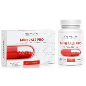 Minerals Pro (Минералс Про) капсулы - мощный комплекс минералов