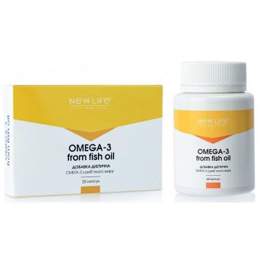 Omega 3 from fish oil (Омега 3 з риб'ячого жиру) - для серця, імунітету, допомагає суглобам і печінці