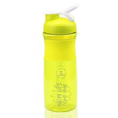 Спортивна пляшка-шейкер фірмова New Life 760 ml
