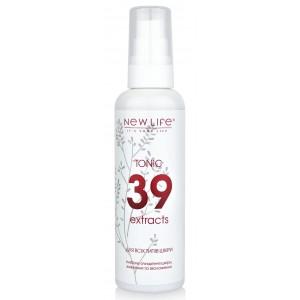 Тоник для всех типов кожи 39 экстрактов