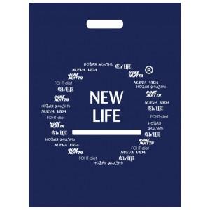 Пакет синій New Life, 40 х 45 см