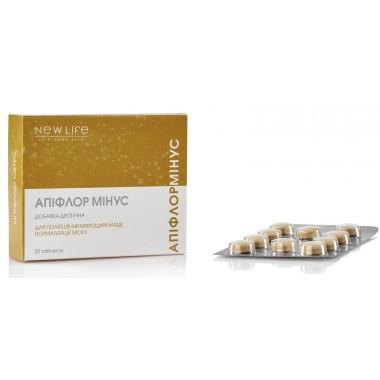 Апіфлор мінус (поліпшення мікроциркуляції, нормалізація тиску)