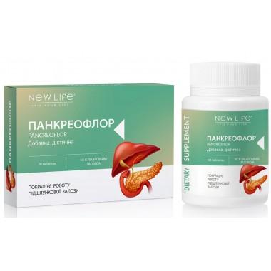 Панкреофлор / Pancreoflor (для улучшения работы поджелудочной железы)