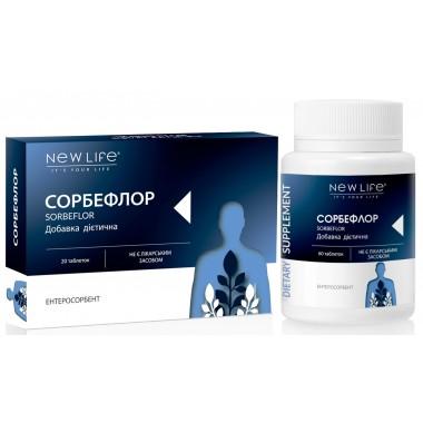 Сорбефлор / Sorbeflor - очищення кишківника при отруєннях, інтоксикаціях, діареї