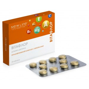 Витафлор (мультивитаминный комплекс с минералами)